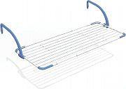 GIMI BREZZA EXTEND Stendibiancheria estensibile balcone da vasca da 120 a 190 cm