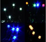 GIOCOPLAST 1809881 Luci Natalizie 35 lucciolette led bianche 230 volt Interno