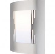 GLOBO LIGHTING 3156-3 Applique Esterno Orlando Acciaio Inox Nickel Satinato