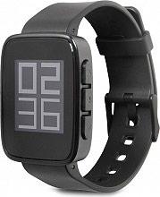 "GOCLEVER Smartwatch Android 4.4 1.26"" Bluetooth col Nero Chronos Eco GCWCHRE"