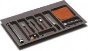 GOLLINUCCI 780 G490 Portaposate da Cassetto 90 cm colore Grigio