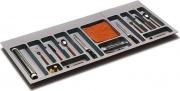 GOLLINUCCI 783 Portaposate per cassetto in plastica colore grigio