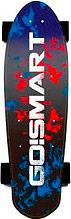 GO!SMART ESKATEBLUE Skateboard Elettrico Motore 350 W 10 Kmh Tavola in legno Go And Skate