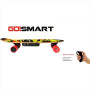 GO!SMART E-Skate Multi Skateboard elettrico Batteria ricaricabile 400 Mah Telecomando E-Skate