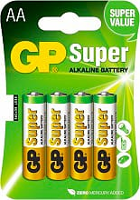 GP Batteries 5505 Pile Stilo Batterie non Ricaricabili LR06 -  GP15A-U4