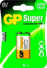 GP Batteries Batterie non Ricaricabili 9V GP1604AU1