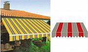 Giardini del Re Tenda sole a rullo bracci retrattili avvolgibile cm 300x250 P3011