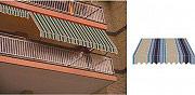 Giardini del Re Tenda da sole a caduta avvolgibile per balcone H 200x250 TESS.P4032
