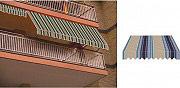GIARDINI DEL RE Tenda da sole a caduta avvolgibile per balcone H 300x250 TESS.P4032