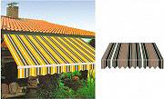 Giardini del Re Tenda sole a rullo bracci retrattili avvolgibile cm 300x250 P6002