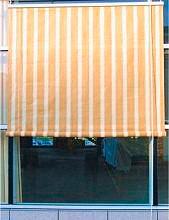 Giardini del Re SOLARIS240 Tenda da sole con rullo Avvolgibile esterno Beige a righe cm 240x300