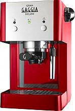 Gaggia RI842522 Macchina Caffè Espresso Cialde Cappuccino Gran Gaggia Deluxe