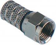 GALAXY CF1 Connettore a Vite per Cavo Satv 6,00mm pz 25