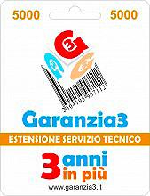 Garanzia 3 EXTGAR4 Estensione del Servizio Tecnico Fino A 5.000,00 Euro