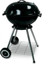 Garden Friend B1014118 Barbecue a carbonella BBQ ø 45cm in acciaio con ruote