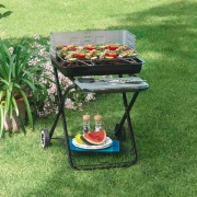 Garden Friend B1072436 Barbecue carbonella richiudibile BBQ pieghevole