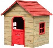 Garden Friend C1527025 Casetta in legno per bambini 125x120xh 140cm Rosso