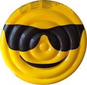 Garden Friend G1709155 Materassino Gonfiabile Emoticon Occhiali Sole 150 cm