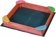 Garden Friend S1527039 Sabbiera per bambini gioco da giardino 100x100x17 cm