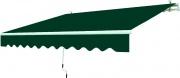 Garden Friend T1372011A Tenda da sole avvolgibile 250x200cm Verde