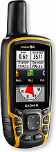 "Garmin GPS Portatile Display 2,6"" Nero  Giallo 010-01199-00 Map 64"