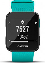 Garmin 010-01930-04 Forerunner 30 - Smartwatch Orologio Cardio Wireless Turchese