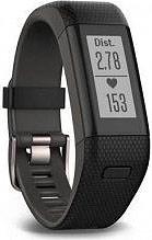 Garmin Orologio Fitness Contapassi Timer Sveglia Bluetooth Nero Vivosmart HR+