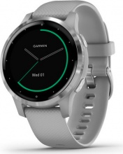 Garmin 010-02172-02 Smartwatch Android iOS GPS Orologio Fitness Wireless Silver VivoActive 4S