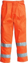 Gb Greenbay 436302 Pantalone Alta Visibilita Refle x Arancio 52