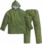 Gb Greenbay 462009 Impermeabile Giacca+Pantaloni Verde M