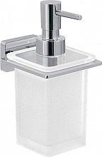 GEDY 4481132 Dispenser Sapone da Parete Portasapone Liquido in Vetro  G.Athena