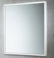 GEDY 8000 Specchio rettangolare 55x60 cm con cornice bianca