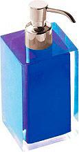GEDY RA8105 Dispenser Sapone Liquido materiale Resina colore Blu  G-Rainbow