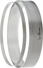 GHIDINI 3536 Set 2 anelli 23 e 24 cm Acciaio inox