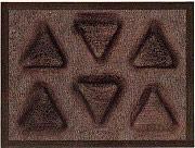 GHIDINI 3544 Stampo microforato triangolare Fibra di vetro + siliconico