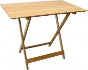 Giardini del Re 240-2 Tavolo pieghevole legno tavolo pic nic 100x60x75h cm