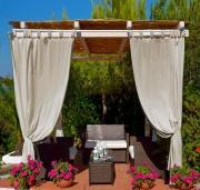 Giardini del Re ID1799 Tenda gazebo a bretelle cotonepoliestere 140x270h cm