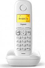 Gigaset A270WH Telefono Cordless Dect GAP 80 Voci in Rubrica Vivavoce Bianco A270