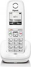 Gigaset Telefono Cordless DECT Tasto Re-Dial Wireless Col. Bianco - AS405