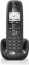 Gigaset AS 405 BLACK Telefono cordless DECT 100 voci rubrica suonerie polifoniche AS405