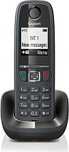 Gigaset AS 405 BLACK Telefono cordless DECT 100 voci rubrica suonerie polifoniche AS405