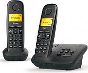 Gigaset A-270 A DUO Telefono Cordless duo DECT GAP Vivavoce Segreteria + 2° Cordless A-270 A
