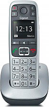 Gigaset E560 Telefono Cordless DECT GAP Vivavoce Tasti grandi Grigio
