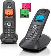 Gigaset Telefono cordless DECT Vivavoce A540 Duo L36852-H2601-K101