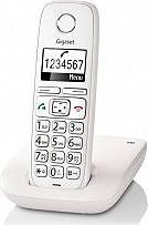 Gigaset S30852 H2301 K123 Telefono Cordless DECT 120 Voci in rubrica Bianco E260