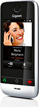 Gigaset Telefono Cordless display LCD Touch Screen col. Nero SL910H
