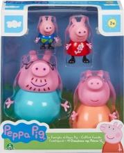 Giochi Preziosi PPC27000 Peppa Pig Set Famiglia 4 Personaggi
