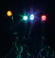 GIOCOPLAST 1809872 Luci Natalizie 20 lucciolette led Multicolore 230V Interno