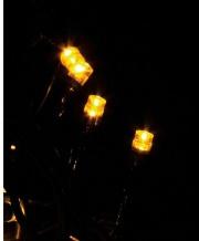 GIOCOPLAST 1809875 Luci Natalizie 20 lucciolette led Bianco 230 volt Interno