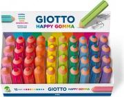 Giotto 233800 Confezione 40 Happy Gomma